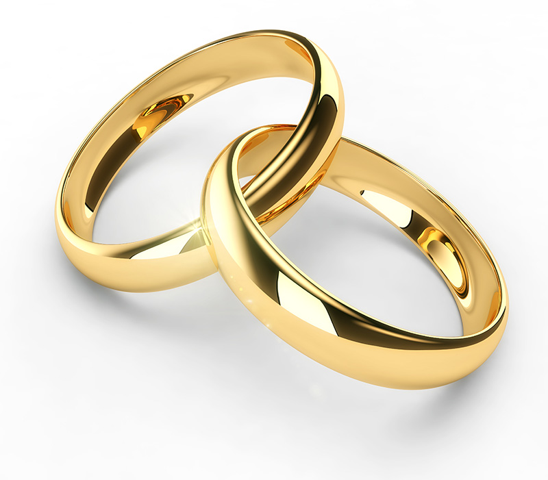 gold wedding rings in wedding rings gold